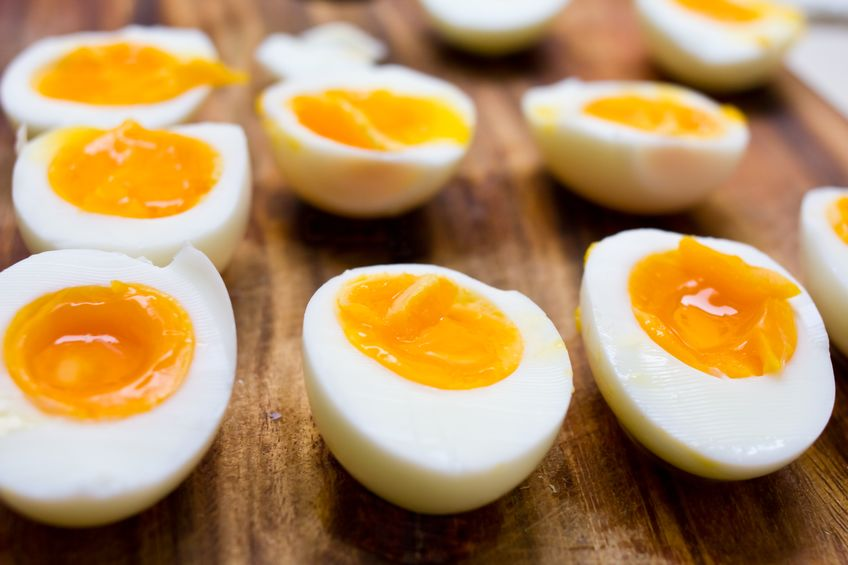 The main sources of dietary phosphatidylcholine are eggs and meat