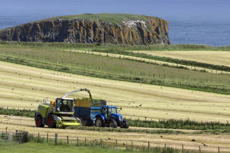 The report says the UK heartland of the farming industry has been 'forgotten and neglected'
