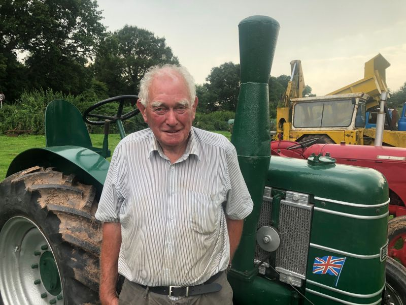 Barry Jones has been collecting historical tractors and agricultural machinery since he was just 15
