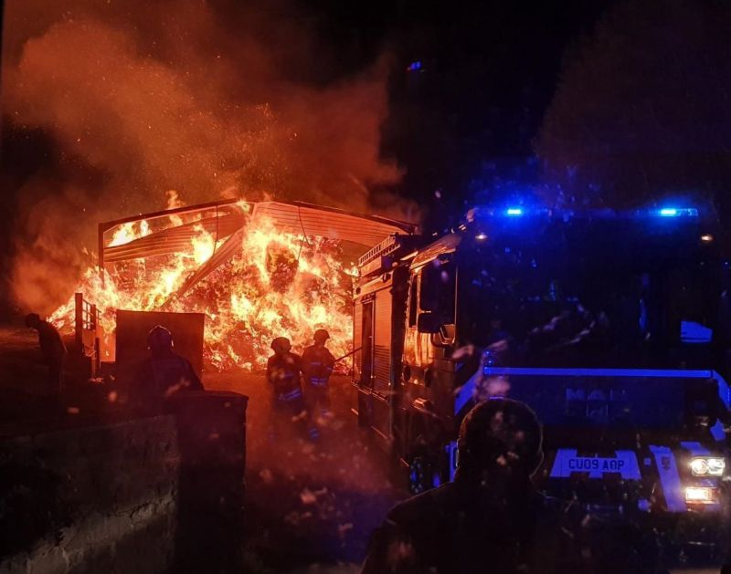 (Photo: Welshpool Fire Station)