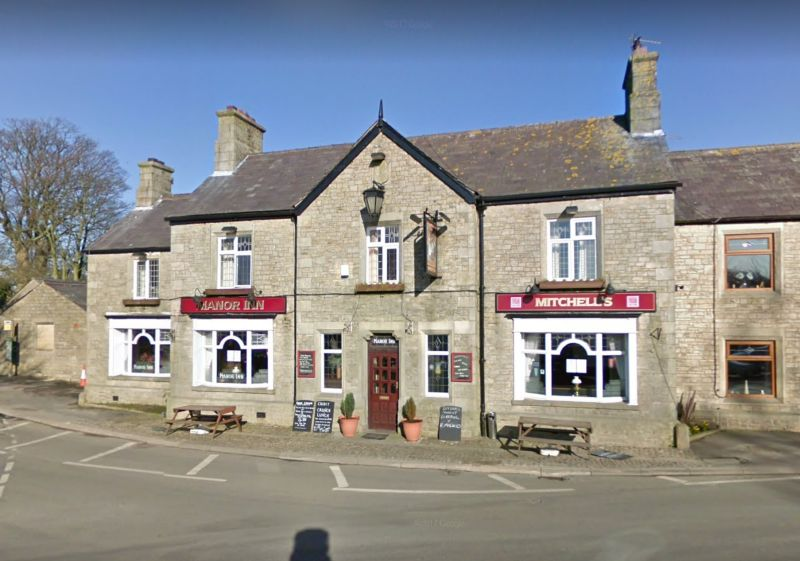 Several large bales fell onto members of the public sitting outside the pub (Photo: Google Maps)
