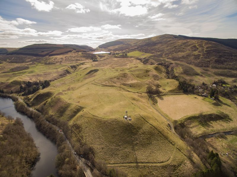 The hill ground is currently leased for grazing on a seasonal basis (Photo: Galbraith)