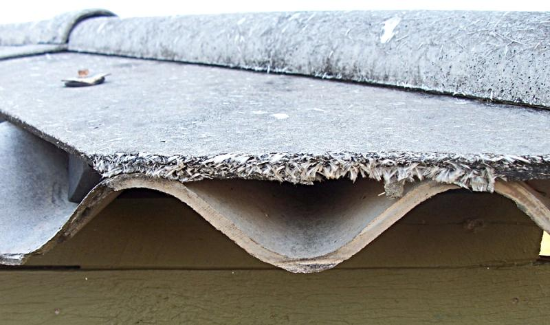 Asbestos-related diseases are caused by breathing in asbestos fibres