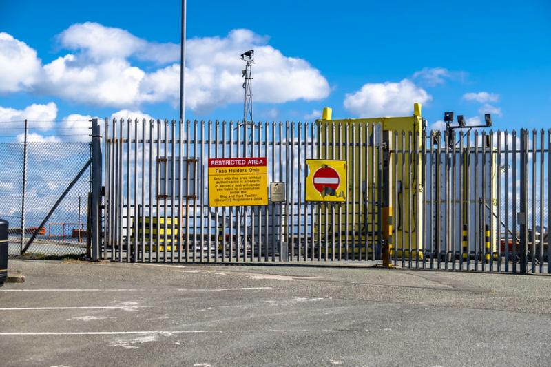 The letter has been circulating around Anglesey and claims a protest will begin on Friday at Holyhead Port