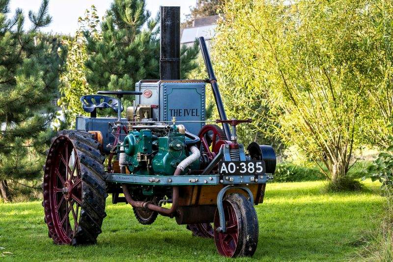 This iconic tractor is set to star at an auction to commence in October