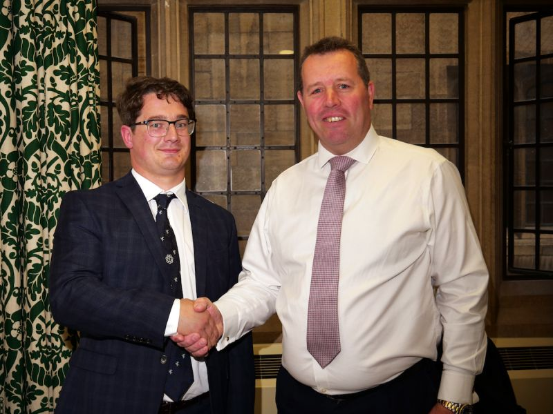 YFCs are 'fundamental' to rural communities, according to the Chief Whip and former NFYFC chairman (R)