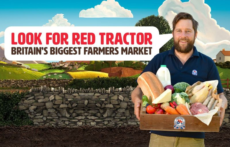 Red Tractor Assurance has announced a new £1m television advertising campaign