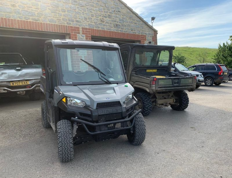 All Polaris models include a data tag security system as standard