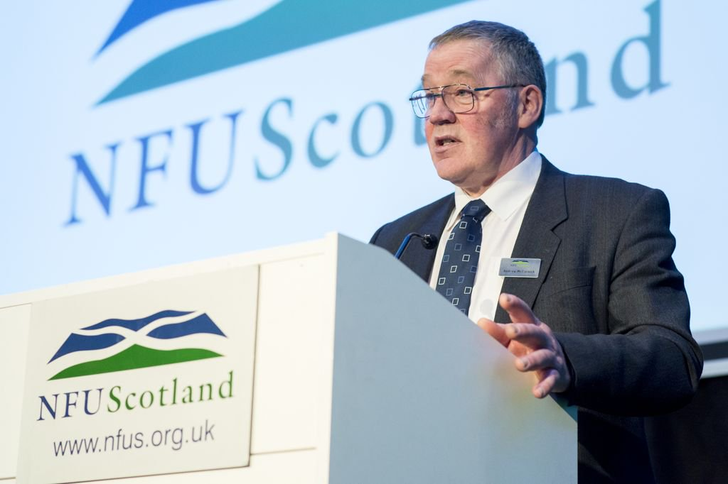 NFU Scotland President Andrew McCornick said farmers could get 'undermined' by imports entering the country after a no-deal Brexit
