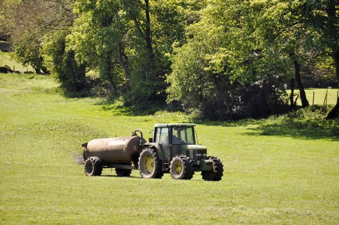 The closed periods relate to the spreading of nitrogen fertilisers