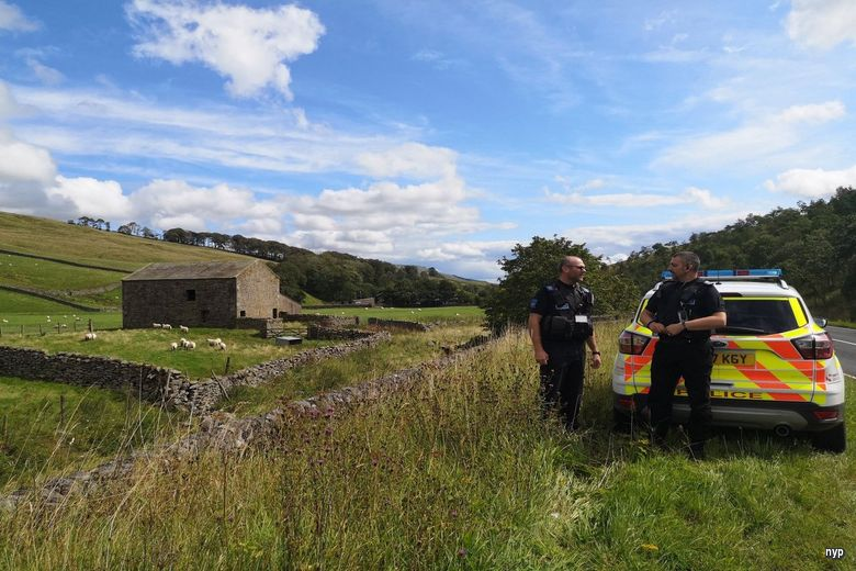 The operation saw dozens of reassurance visits to farms