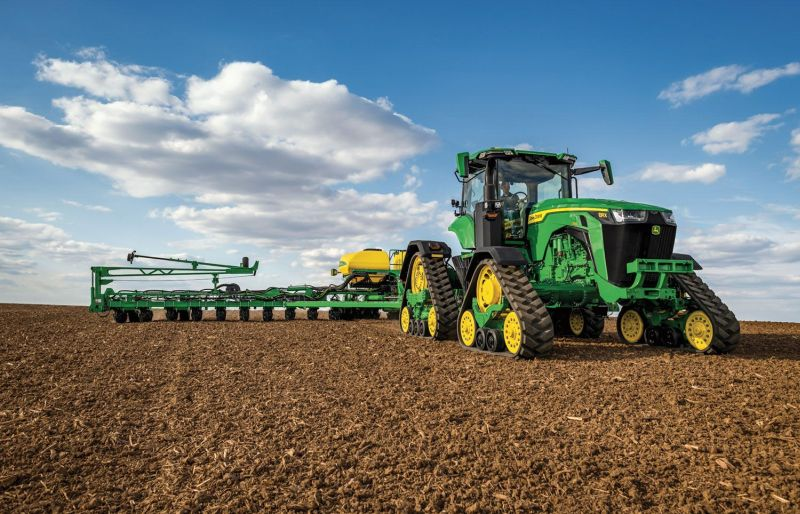 The 8RX is precision-ag ready from the factory