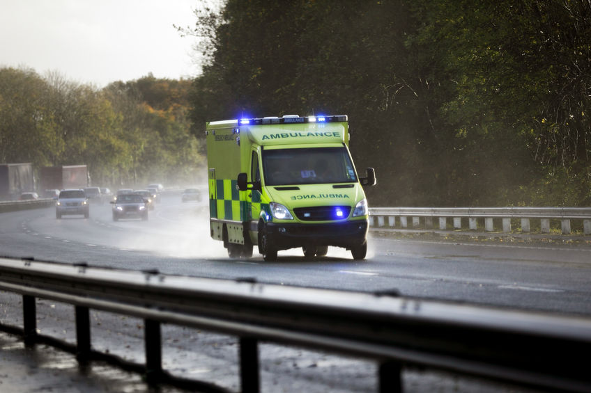 Emergency services, including dozens of firefighters, an air ambulance and special officers, attended the affected farm
