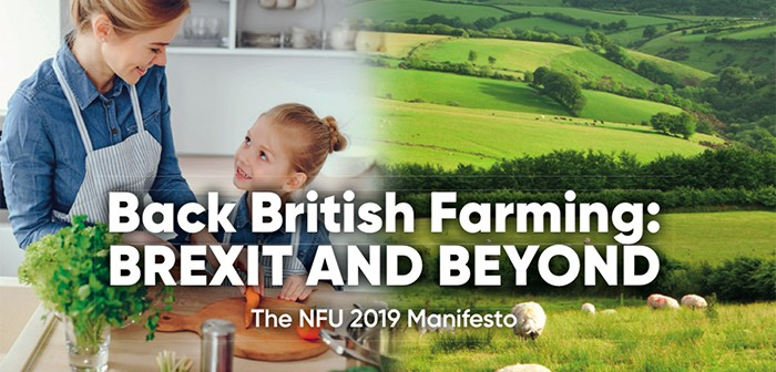 The manifesto calls for the next government to ensure British farming maintains its high standards