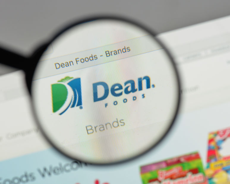 Dean Foods, the biggest US milk company, has filed for bankruptcy protection