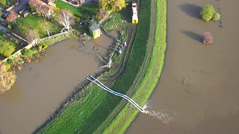 Flood-hit farmers in northern England and the Midlands are able to apply for up to £25,000 in government grants