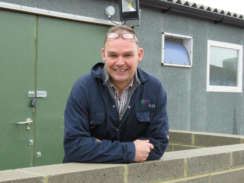 Richard Lister has won this year's highest pig industry accolade