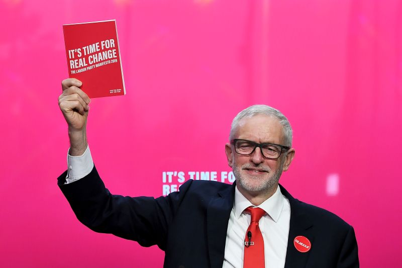 The Labour party launched its general election manifesto in Birmingham on Thursday (Photo: James Veysey/Shutterstock)