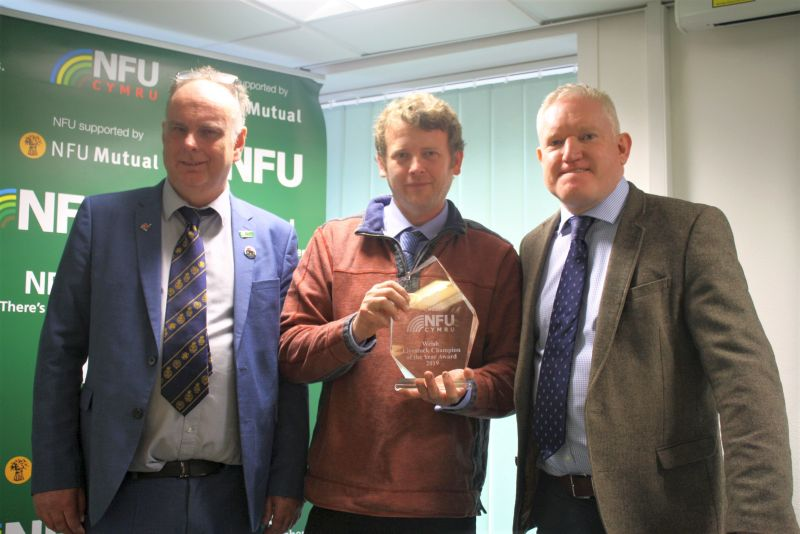 Gary Howells' stockmanship skills are of the highest calibre, NFU Cymru says