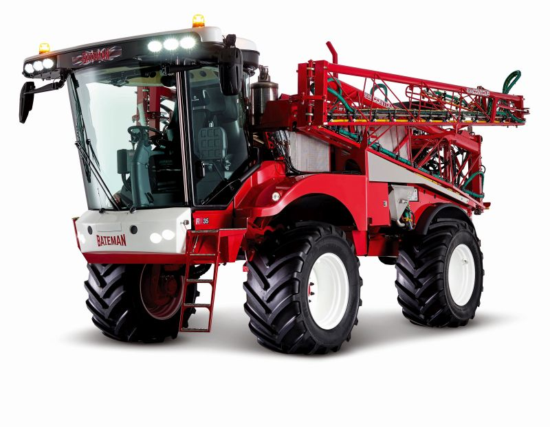 Bateman will be showcasing its RB35 and RB55 self-propelled crop sprayers