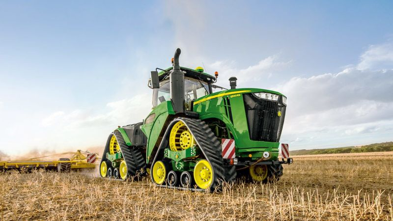 John Deere 9620RX reaches an impressive 650 hp