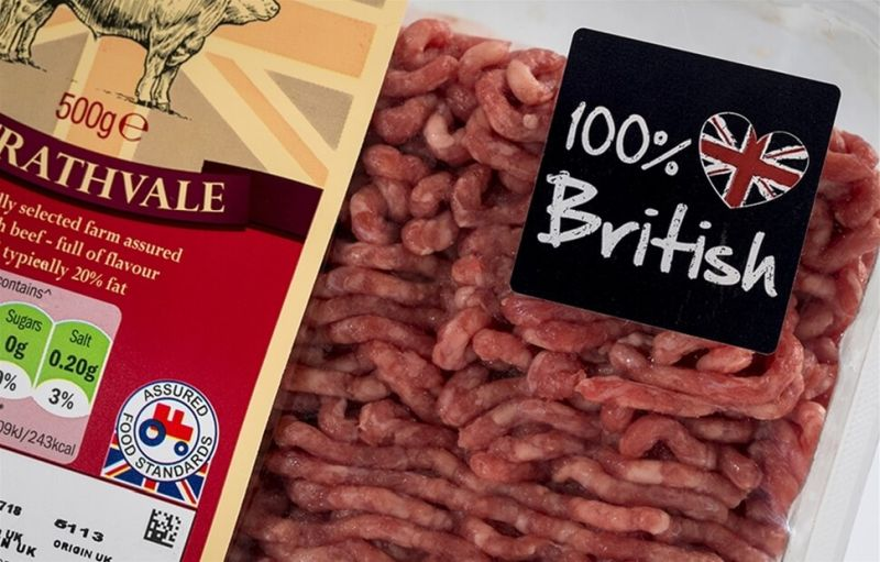 Mandatory country of origin labelling would 'ensure a level playing field for hard working farmers' after Brexit
