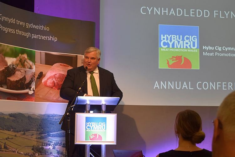 Lord Price, former Waitrose chief and government minister, said differentiation was 'vital' for Welsh lamb