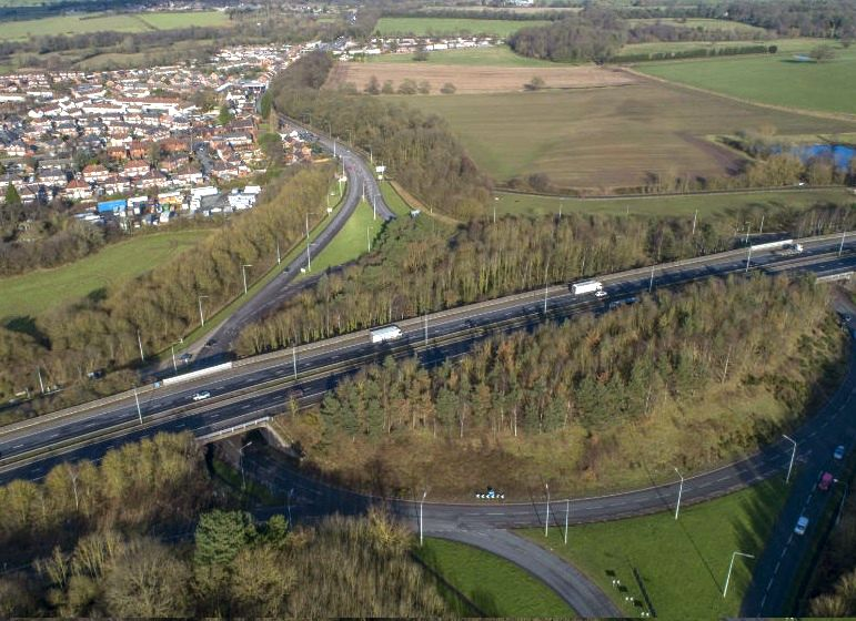 The government identified the need for the proposed direct link road in its 2014 Road Investment Strategy (Photo: Highways England)