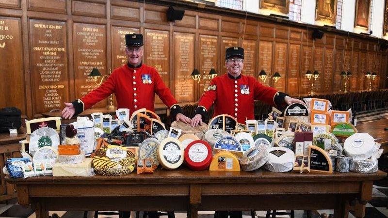 The annual event puts a spotlight on the British dairy industry while commemorating the country's veterans