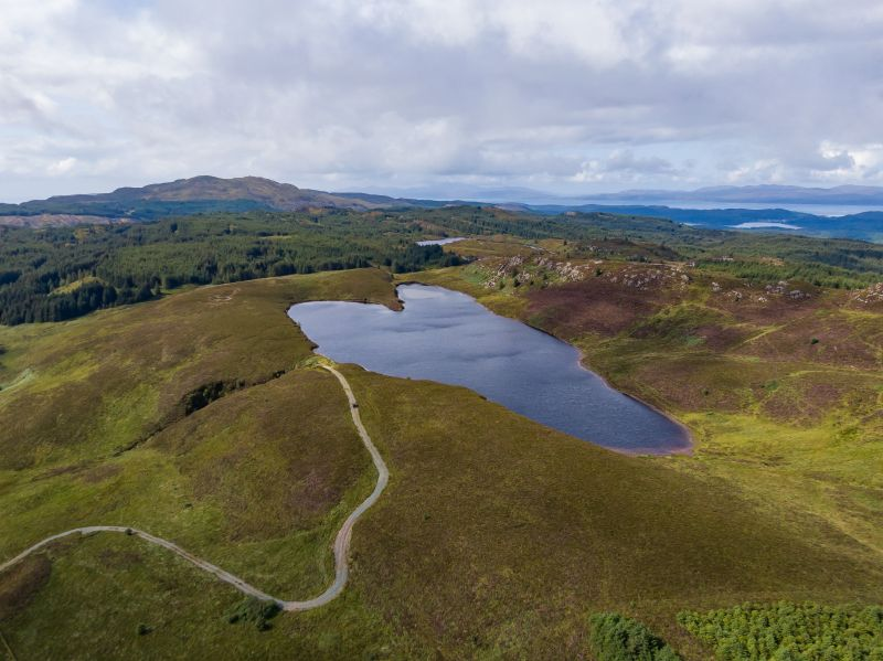 The property presents an 'excellent opportunity' to acquire hill ground in rural Scotland