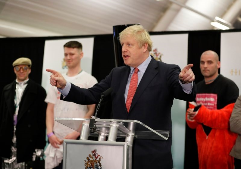 The Conservatives have passed the 326-seat threshold (Photo: Kirsty Wigglesworth/AP/Shutterstock)