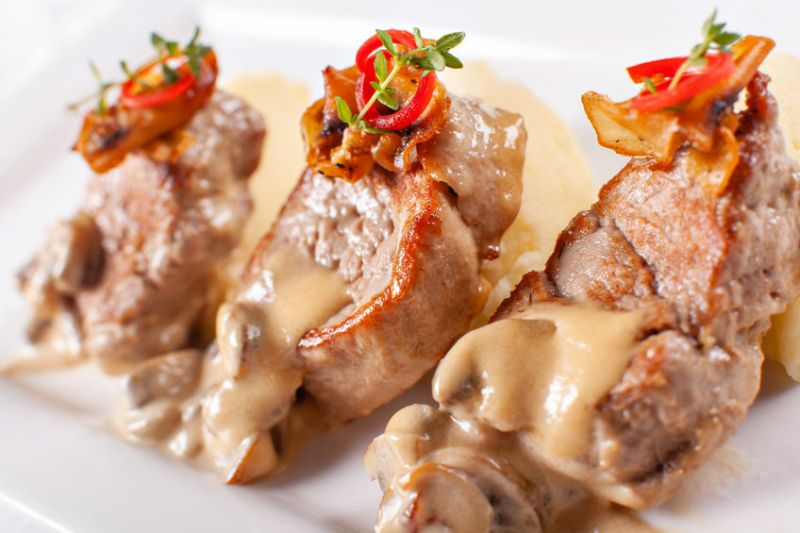 The TV campaign will encourage the public to eat healthy cuts, such as pork medallions