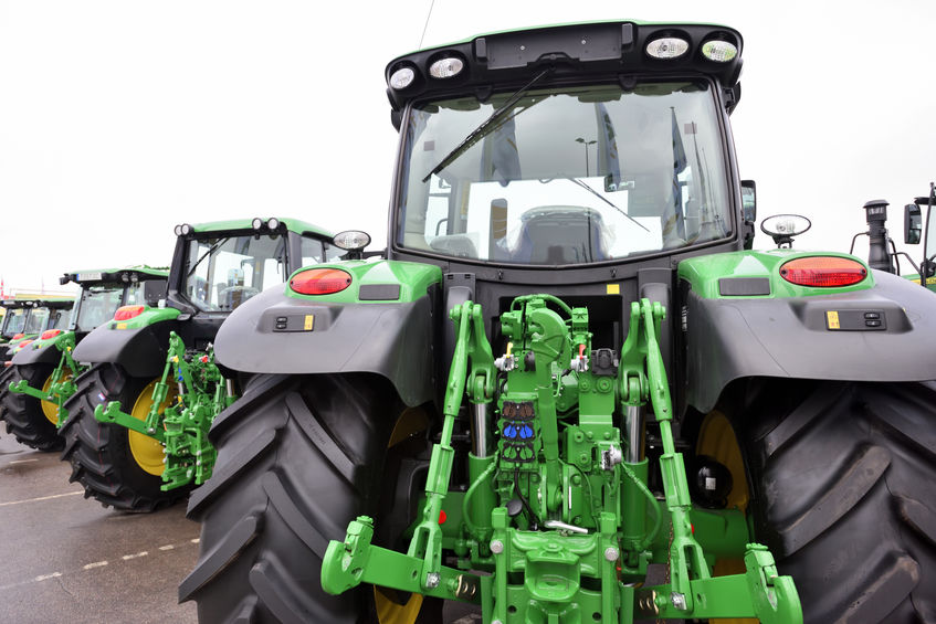 The latter months of 2019 experienced a sharp downward trend in tractor registrations