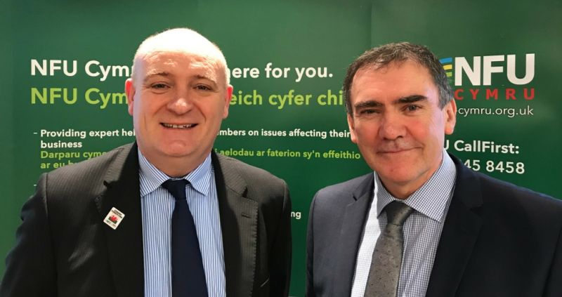 NFU Cymru Welsh Council has re-elected its President and Deputy President