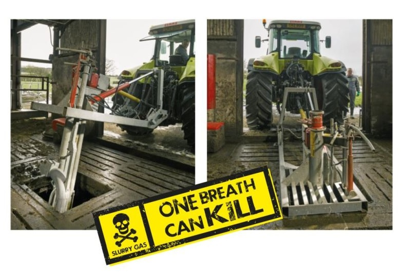Farmers have been told to think and safely plan the work ahead before mixing slurry