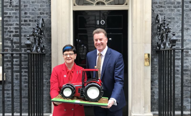 Red Tractor has delivered a to the prime minister to mark the scheme's 20th birthday