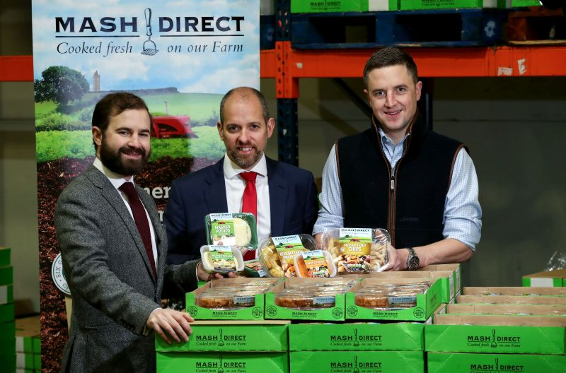Northern-Ireland based Mash Direct supplies major supermarket chains such as Tesco, Sainsbury, Asda