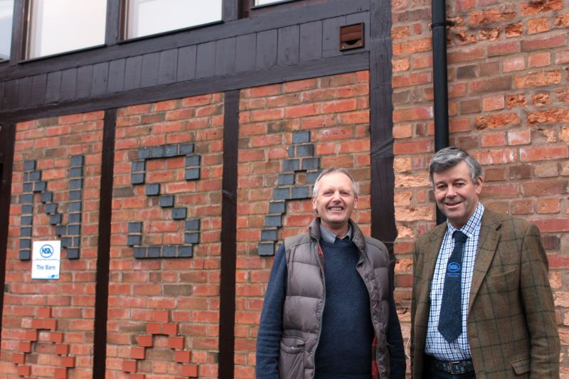 John Geldard (R) has been named as the 2020 recipient of the NSA George Hedley Memorial Award in recognition of his contribution to the sheep industry