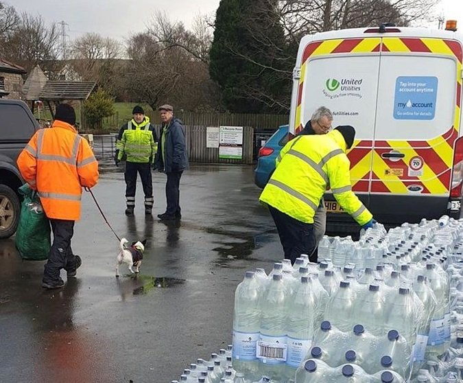 United Utilities says it has set up a dedicated helpline for affected farmers (Photo: United Utilities)