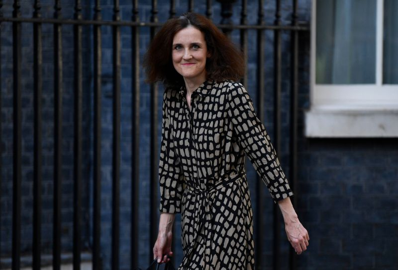 Theresa Villiers was only environment secretary for seven months (Photo: NEIL HALL / EPA-EFE / Shutterstock)