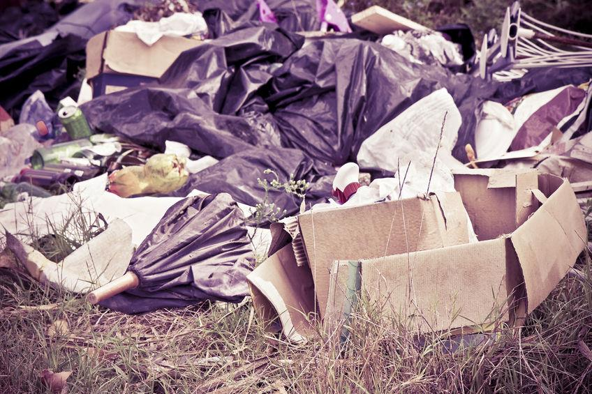 Organised criminals gangs are being blamed for the rise in flytipping incidents