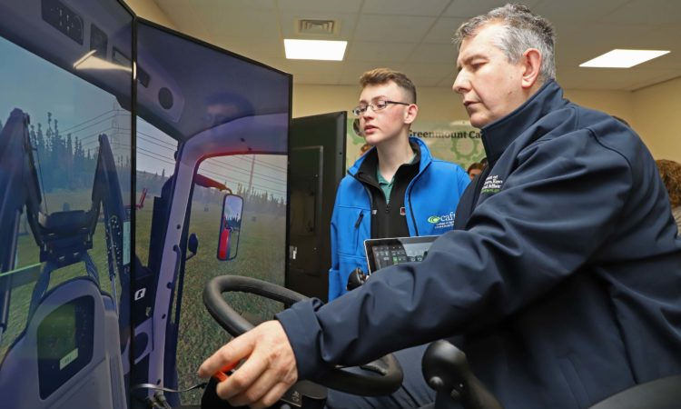 The £100,000 investment in two simulators will allow students to learn in a safe environment and are the first to be used in an NI college