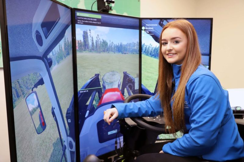 The two new simulators represent an investment of £100,000 by the Department of Agriculture, Environment and Rural Affairs (DAERA)