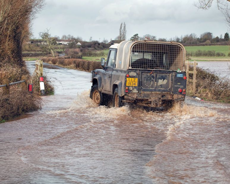 Farmers and those living in rural communities have been told to remain vigilant as disruption caused by the weather is set to continue