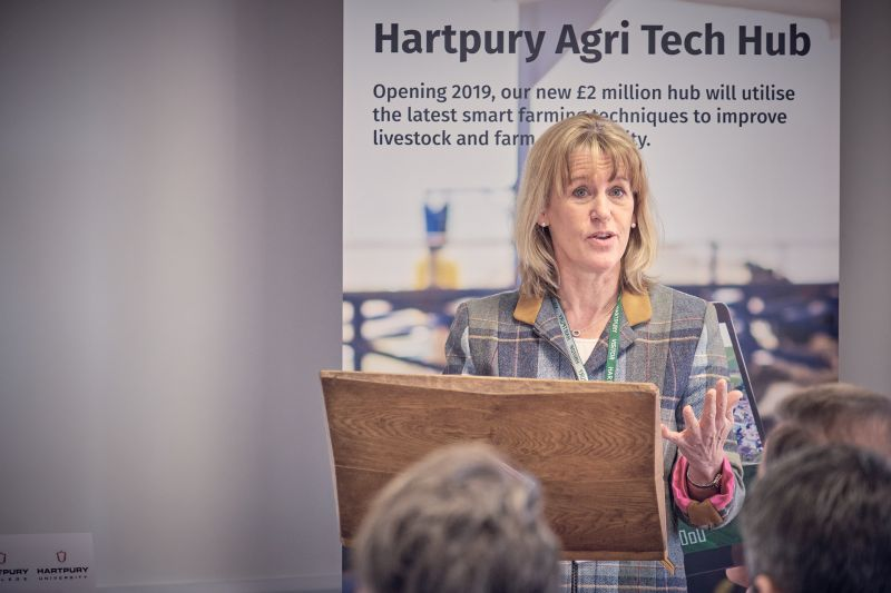 NFU President Minette Batters said the new £2m centre will empower local farmers and agricultural students