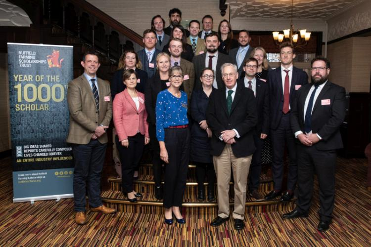 The money awarded to a Nuffield Scholar for their study is not just a scholarship, it is seen as an investment in British agriculture