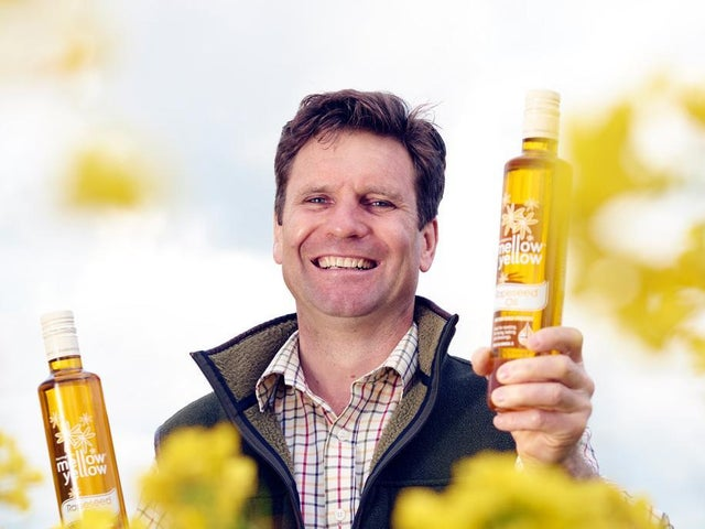 Farrington's Mellow Yellow Cold Pressed Rapeseed Oil range has been certified both carbon and plastic neutral