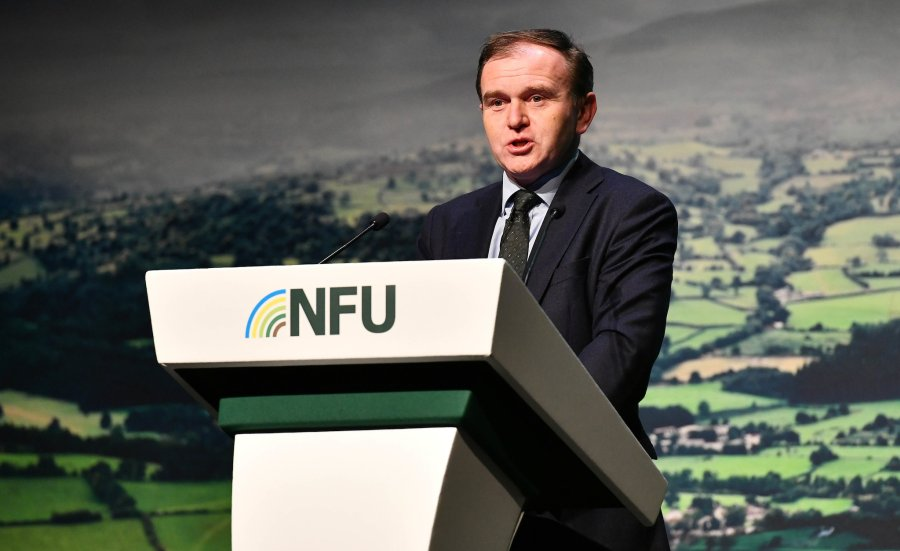 The environment secretary said the government has plans to pay farmers to retire and encourage fresh talent into the industry
