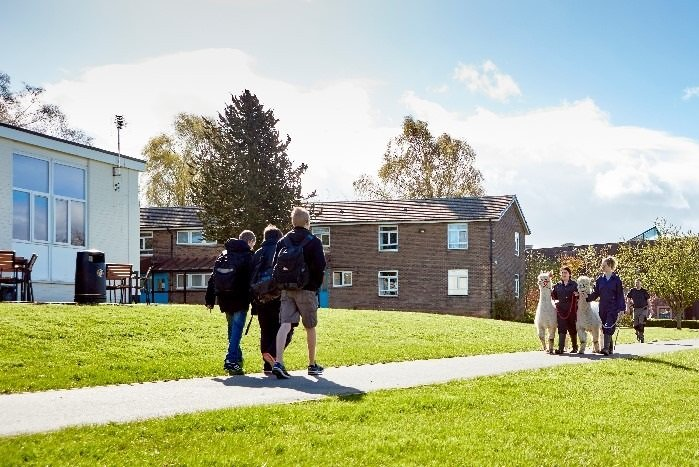 The Penrith campus is seen as one of the leading land-based colleges in the UK (Photo: Newton Rigg College)