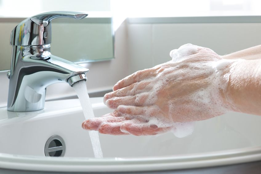 Farmers have been told to communicate to staff that they should wash their hands for 20 seconds more frequently than normal